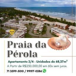 Apartamento 2/4 sendo 1 suíte, Incrível no Praia da Pérola