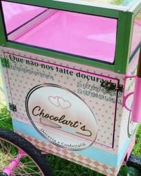 Mini kart baby - para venda de doces.