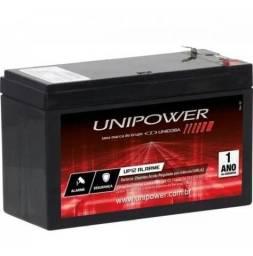 Bateria Nobreak Central De Alarme E Cerca Elétrica Nova 12v 7a - Loja Natan Abreu
