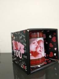 10 caixinhas para canecas com tema de amor R$40.