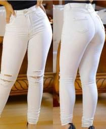 Calça jeans branca TAM 40