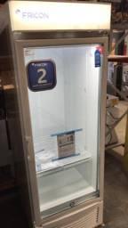 ^^* freezer vertical porta de vidro 565 litros pronta entrega