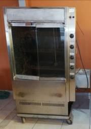 Máquina para assar frango e carne