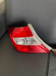Lanterna traseira do Honda 2012