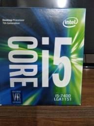 Processador Intel 7 geração i5-7400 soquete Lga1151