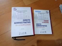 Livro + Caderno Direito Administrativo Descomplicado Alexandrino