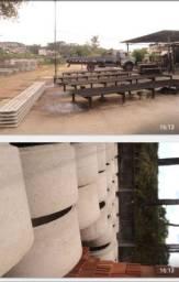 Maquinario de fabrica de pré moldados de cimento