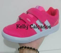 Tênis Adidas Rosa Infantil