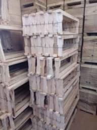 Caixilhos para caixas de abelha