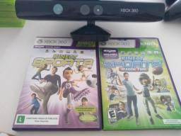 Kinect + 2 jogos