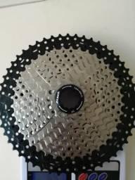 Cassete 11v 11/52 zero para bike com alongador