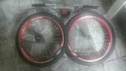 Vende se peças da bicicleta bmx cross