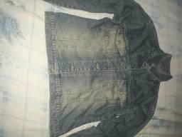 Jaqueta jeans serve para homem é mulher
