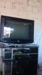 Tv 29 polegada mas um dvd