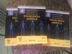 Livros Fisiologia Médica novos