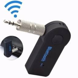 Adaptador de bluetooth novo para músicas som atende chamadas últimas unidades