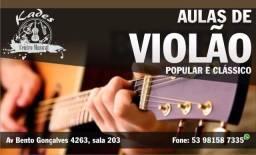 Aula de violão