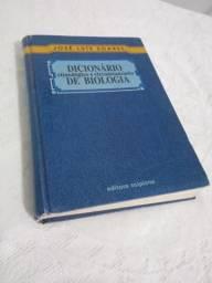 """Livro """"Dicionário de Biologia"""