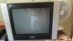 TV de tubo com conversor de digital
