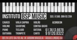 Aulas de musica mais top de Aguas lindas!