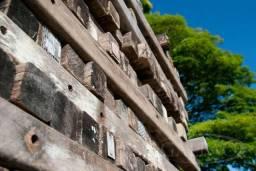 Cruzetas madeira de lei, madeira de demolição