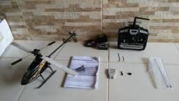 Helicóptero honey bee cp3 6 canais não é v911 v912 v913 v977 v950 top frete grátis