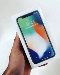 Iphone X - 64Gb Preto + Nota Fiscal - Novo Lacrado