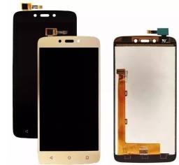 Display Tela LCD Touch Moto C Plus com Garantia