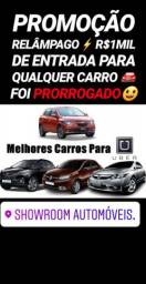 Mega FEIRÃO!! R$1MIL DE ENTRADA(HONDA FIT LX AUTOMÁTICO 2017)SHOWROOM AUTOMÓVEIS - 2017