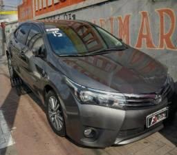 Toyota Corolla 2015 XEI 2.0 novo barato financio completo - 2015
