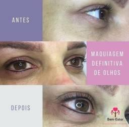 Micropigmentação de Olhos, maquiagem definitiva