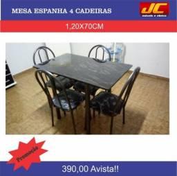 Mesa Espanha com 4 cadeiras