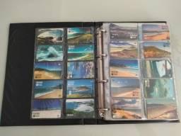 Coleção de Cartões Telefônicos _445 unidades sem repetição!