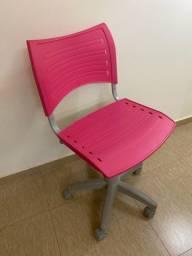 Cadeira escritório Pink