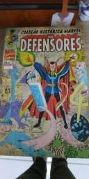 4 edições completa-Coleção histórica Marvel Box HQ os defensores,Hulk,Dr.estranho