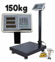 Balança 150 kg plataforma painel digital a bateria
