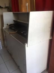Carrinho hot dog + chapa + freezer 546L