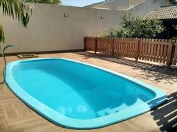 Casa a venda com piscina bairro Ipê, ac financ, tres lagoas ms