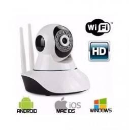 Frete Grátis Camera Ip Wifi 1.3 Mp Alta Resolução Hd 720 Noturna Wireless