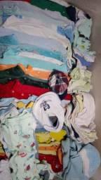 Lote de roupas menino p,m,g