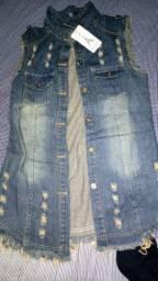 Jaqueta jeans nova na etiqueta