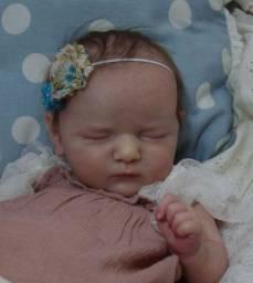 Boneca reborn Hadassa, corpo em tecido ( por encomenda )