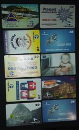 Vendo cartões telefonicos