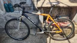 Bicicleta Caloi Supra Alumínio Aro 26 - 21 marchas com kit Shimano Turney Megarange