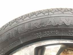 Rodas Honda city + pneus