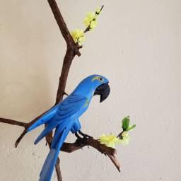 Arranjo de Pendurar Arara Azul