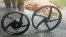 Rodas de liga-leve