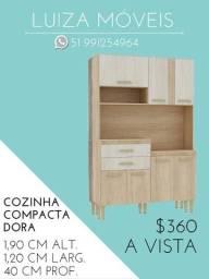 Cozinha Dora compacta