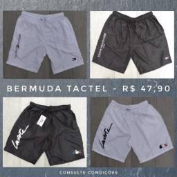Bermuda de Tactel - Super Promoção - Fazemos entrega