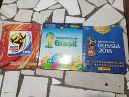 Álbuns da copa do mundo COMPLETOS (10,14,18)!